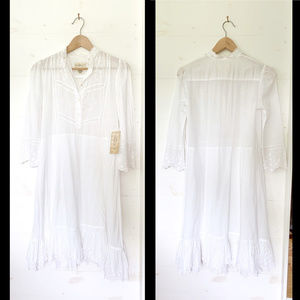 NWT- Ralph Lauren White Cotton Dress - Never Worn!
